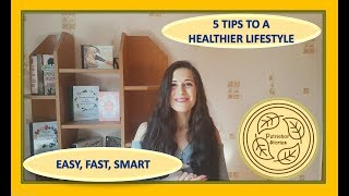 How To Start A Healthier Lifestyle Right Now || Top 5 Tips To Get You On Track