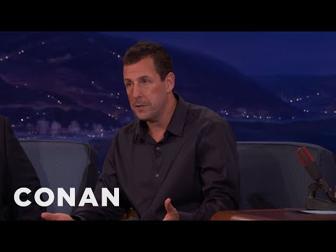 Adam Sandler: Dustin Hoffman Accidentally Snubbed Daniel Day-Lewis  - CONAN on TBS