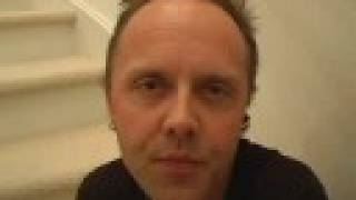 Lars Ulrich of Metallica Thanks YouTube Fans