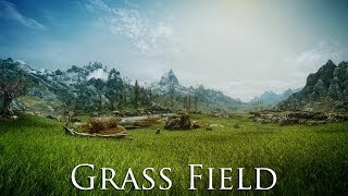 TES V - Skyrim Mods: Grass Field