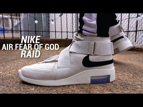 Nike Air Fear of God Raid Review & On Feet