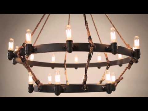 Video for Shipyard Bronze Pike Place Two-Light Wall Mount