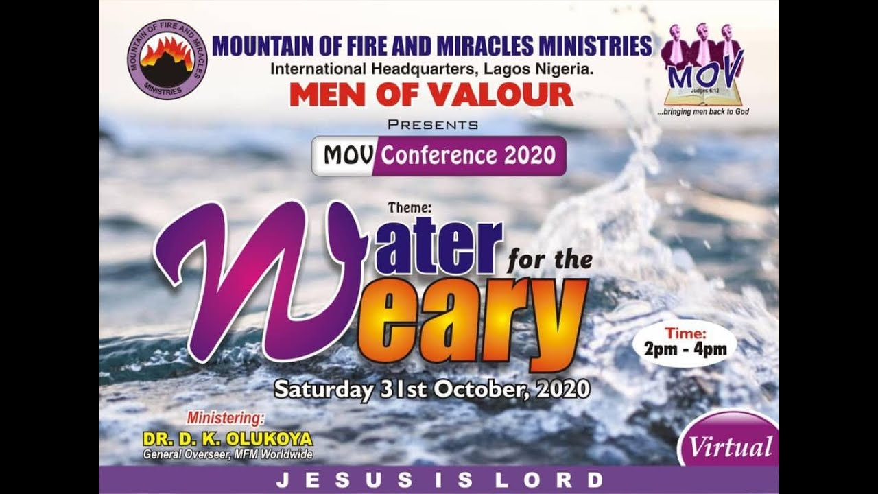 MFM Of VALOUR 2020 Conference 31st October 2020 Livestream