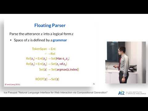 Natural Language Interface for Web Interaction via Compositional Generation Thumbnail