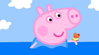 Peppa Pig Official Channel   George Pig Halloween Special - Giant George and Dinosaur