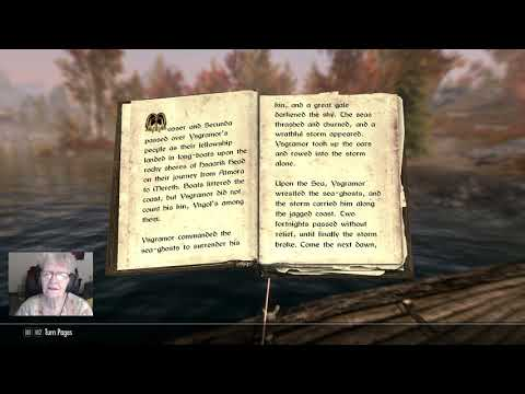 82-year-old Grandma Shirley has the most wholesome content. Here is her latest video- reading books from Skyrim to her viewers.