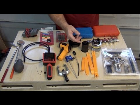 DIY Mechanic Tools – Workshop Tour