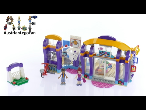Vidéo LEGO Friends 41312 : Le centre sportif d'Heartlake City