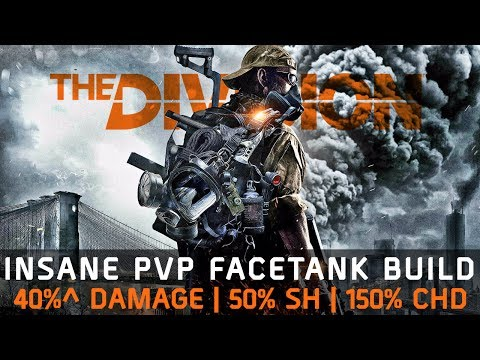 The Division 1.6.1 | ULTIMATE FACE TANK PVP BUILD - BEST DAMAGE & STRONGEST HYBRID!!