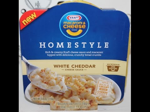 Kraft Homestyle White Cheddar Cheese Review