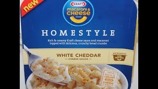 Kraft Homestyle White Cheddar Cheese Review - Video Youtube