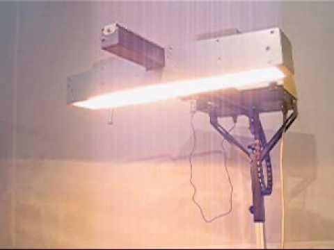 Yo Yo lampada da essiccazione intemedia per serigrafia