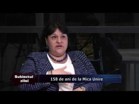 Emisiunea Subiectul zilei – 23 ianuarie 2017 – Invitat, prof. Carmen Băjenaru