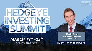 Watch our CEO David Root's interview on Hedgeye TV with Keith McCullough during Investing Summit