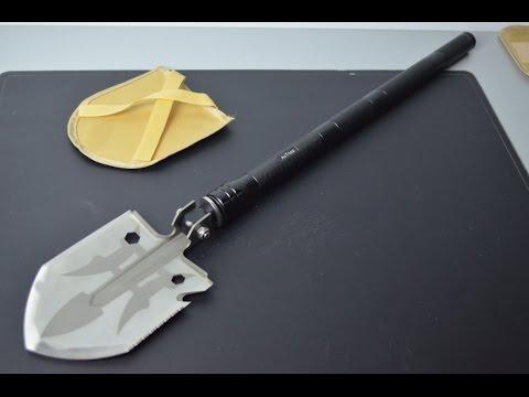 AcTopp Pala Multifunzionale pieghevole in acciaio Inox