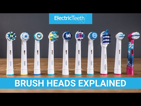 Oral-B Electric Toothbrush Heads Explained 2021