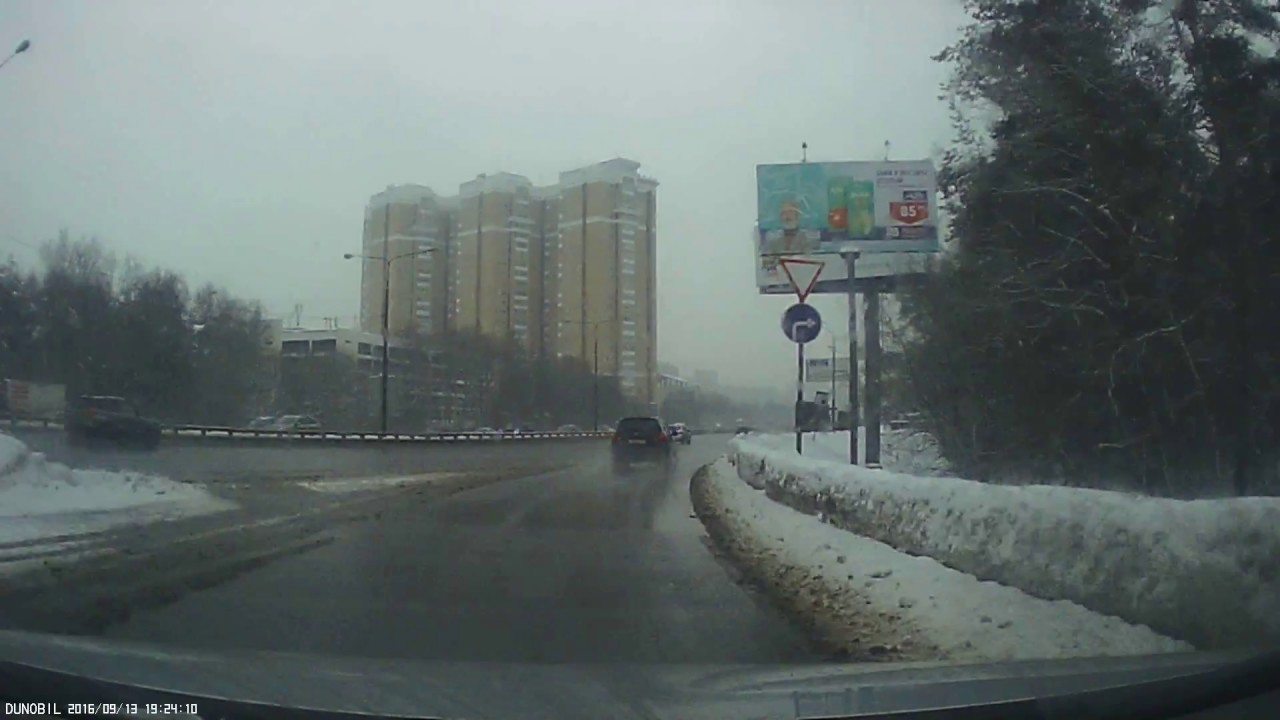 Уснул за рулем в Москве