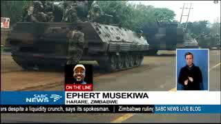 COUP ZIMBABWE
