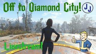 Off to Diamond City! | Fallout 76 Prep. | Horizon Survival Mod