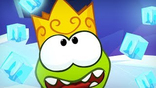 Frozen Om Nom In The Ice Cave | Om Nom Stories | Funny Cartoons For Kids | Cut The Rope