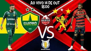 Jogo Cuiabá x Sport - ao vivo - BRASILEIRO 2021 - Narração