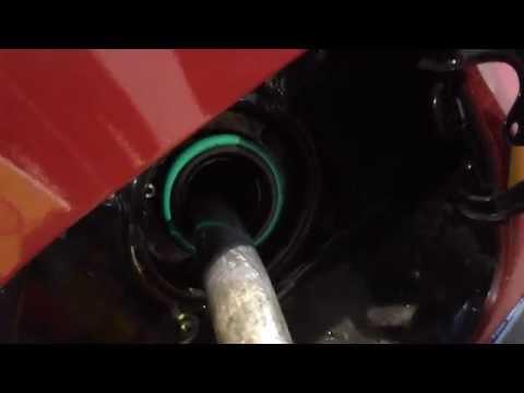 Nissan x-trail t31 das Benzin