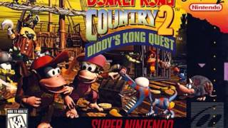 Donkey Kong Country 2: Diddy's Kong Quest - Hot-Head Bop (Lava Field)