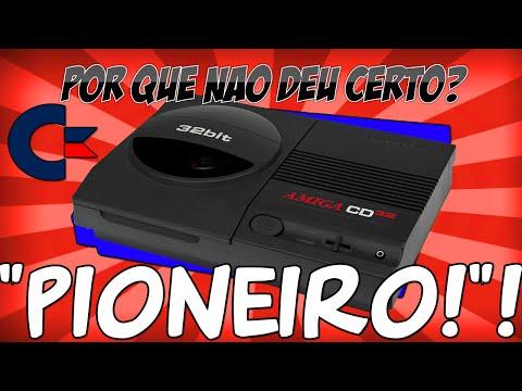 POR QUE NÃO DEU CERTO? Commodore Amiga CD32