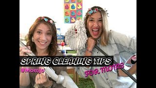 Spring Cleaning TIPS For Moms - New Video!