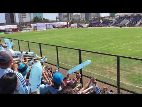 """""""Salida de Deportes Iquique vs madres en Cavancha !!"""" Barra: Furia Celeste • Club: Deportes Iquique"""