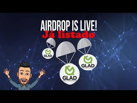 🔴JÁ LISTADO🔴 Airdrop Glad pagando $10 dólares . CORRE!