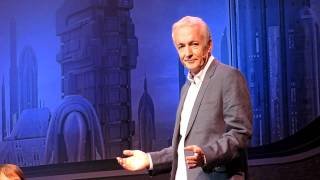 Anthony Daniels (C3PO) talks about his favorite scene in the Star Wars films.
