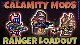 Best Ranger Loadouts For Calamity Mod!   Terraria Class Setup Guide  