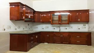 Amazing Design Ideas Double Kitchen Cabinet   How To Update Kitchen Room & Skills CAN You Never Seen