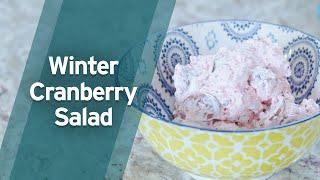 Recipe: Winter Cranberry Salad