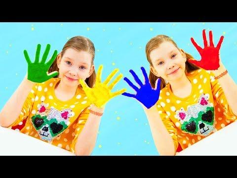 🔴 HappyBOX - Разноцветные ОТПЕЧАТКИ!!!