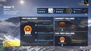 Season 11 Week 3 Task Force Challenge - Ghost Recon Wildlands
