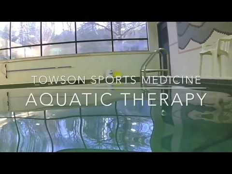 Suspended Lower Extremity Aquatic Exercises
