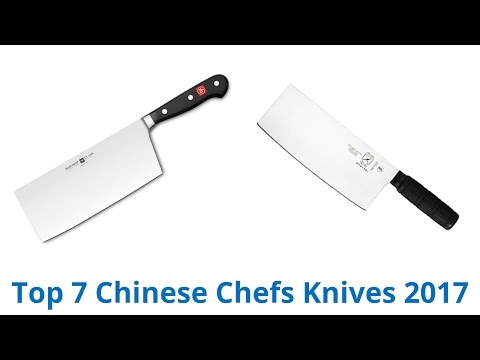 7 Best Chinese Chefs Knives 2017