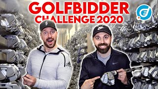 In this video me and Rick Shiels face off in the last ever £500 Golfbidder Challenge! In this video we head down to Golfbidder for our golf club selection picking from thousands of clubs in the warehouse. For more information on GolfBidder visit https://www.golfbidder.co.uk  ►Become a FREE SUBSCRIBER to PETER FINCH now  http://bit.ly/SubscribePFGolf  ►Become a FREE SUBSCRIBER to RICK SHIELS now  http://bit.ly/SubRickShielsGolf  ►Book Lesson With PETER FINCH at Quest Golf here http://bit.ly/1OkIdKM  ►Feel free to comment below!  ►Remember to hit that LIKE button if you enjoyed it :)   #Subscribe #Like #Comment  ----------------------------------------­----------------------------------------­--- ►My Links: Facebook ► http://bit.ly/1WWf5jR Twitter ► http://bit.ly/1ZygHiY Instagram ► http://bit.ly/1WlhRRa Web ► http://bit.ly/1ZygU5B ----------------------------------------­----------------------------------------­--  I deliver straight talking, easy to follow, honest, professional, calculated advice to all of my viewers from beginner to tour pro. This tried and tested method of coaching has helped many golfers achieve their personal goals and beyond.