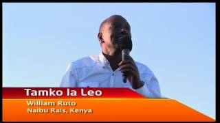 William Ruto: We expected to see an imported flag bearer after all the talks and meetings