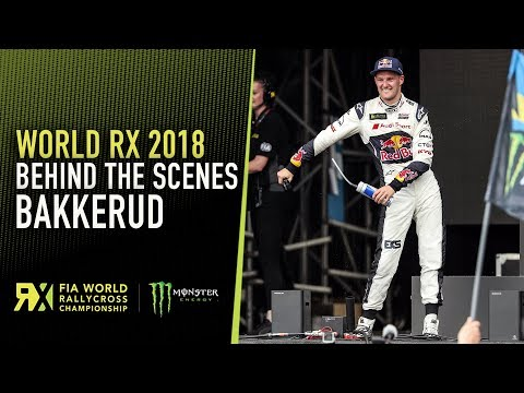 Behind The Scenes | Andreas Bakkerud at Speedmachine Cooper Tires World RX of Great Britain