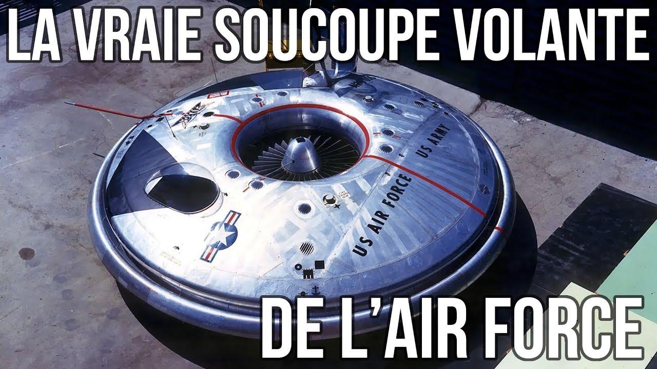 👽 La vraie soucoupe volante de l'Air Force