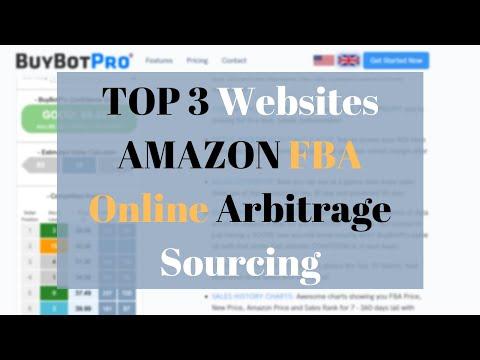 AMAZON FBA - Top 3 Sourcing Websites - Online Arbitrage   UK
