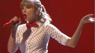 Taylor Swift We Are Never Ever Getting Back Together Live Dancing With The Stars 2013 DWTS CMA CMAS