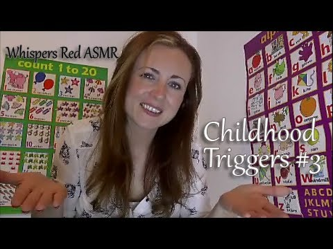 ((^^Childhood ASMR Triggers #3 Teacher's Stories^^)) School Storytime Role Play