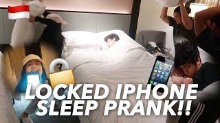 "NIANA & I PRANKED RANZ!""Changed his iphone password"" (Must Watch!) | BIBOY CHUA"