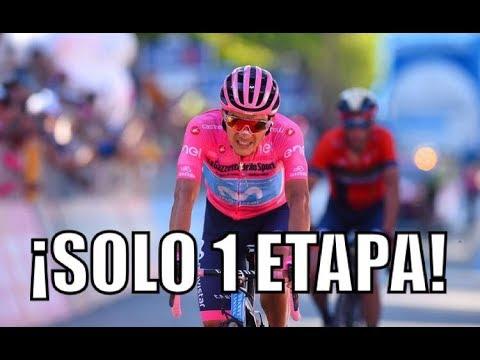 Richard Carapaz ha dado un paso de gigante tras la etapa 20 del Giro de Italia