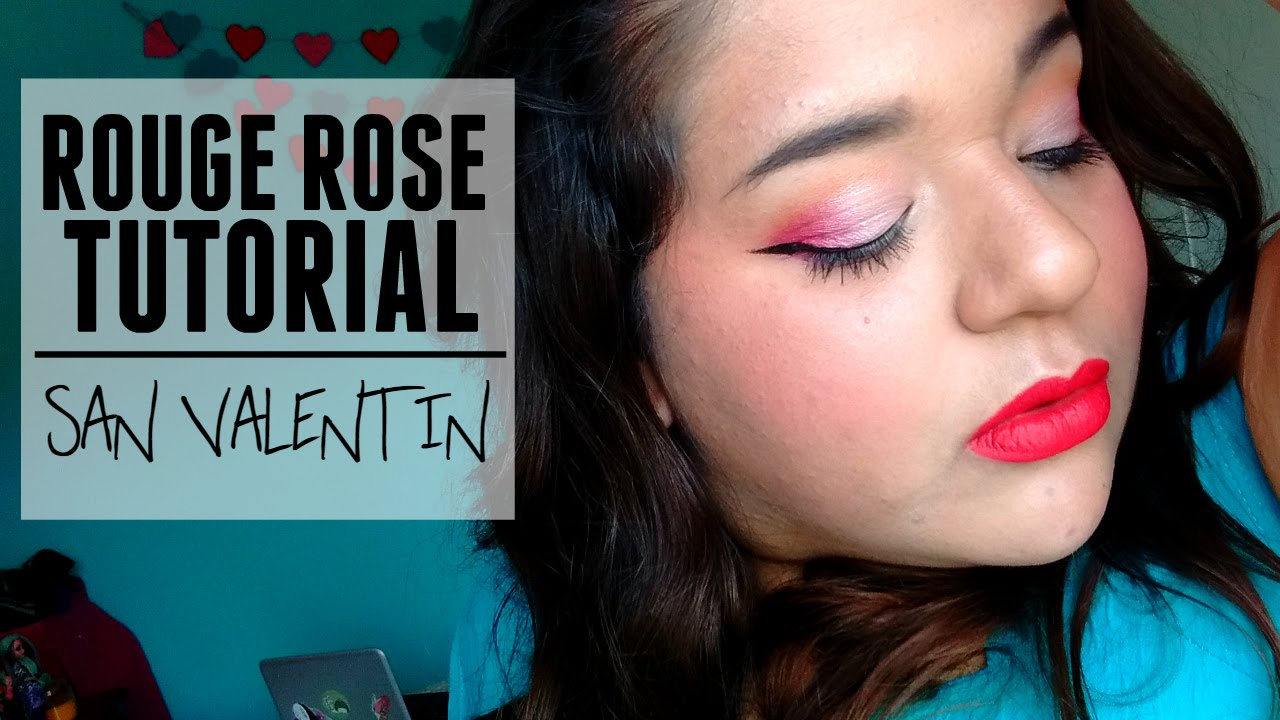Demelza Makeup - Rouge rosé - Tutorial San Valentín