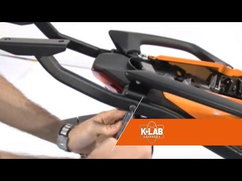 Kappa monorack® - Kit di fissaggio universale con portapacchi per Moto